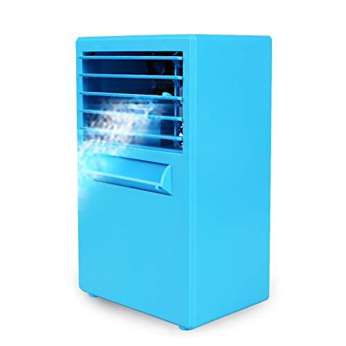 SJZC 3-in-1-Mini-Luftkühler, Luftkühler, Mobile Klimaanlage, Abnehmbarer Wassertank, tragbarer Luftbefeuchter und Luftreiniger, auslaufsicher, Neuer Filter -