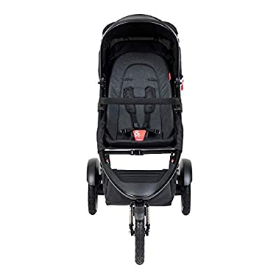 Phil&teds Sport V6 2019+ - Silla de paseo con asiento, color negro