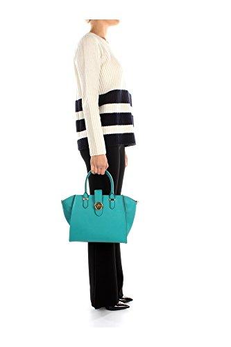 L6941RL549A4L4V Ralph Lauren Sacs de shopping Femme Cuir Vert Vert