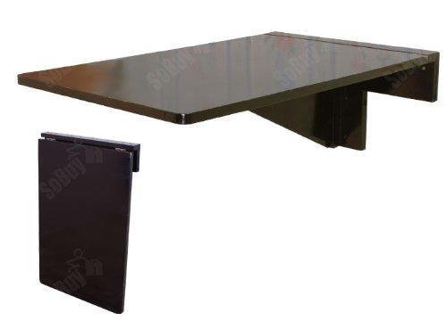 SoBuy Folding Wall Mounted Drop Leaf Table ...