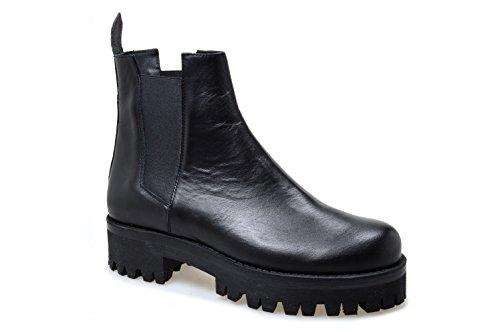 Vitello Nero CANYON à femme lacets Chaussures ville SRLS de pour z86zqg4Bx