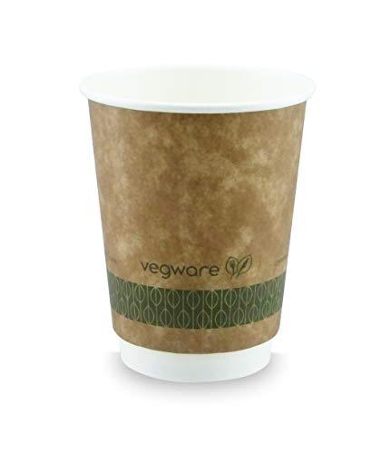 Vegware Vdw-12 double paroi Kraft Tasse, 12 G, Marron