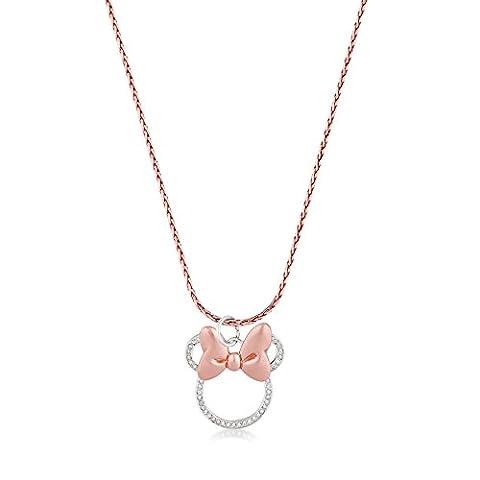 Collier Disney - Disney Couture Minnie Mouse Rocks plaqué or