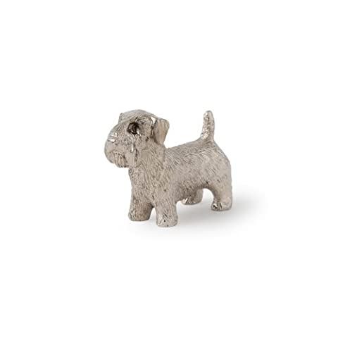 Sealyham Terrier Made in UK, Collection Figurine Artistique Style Chien