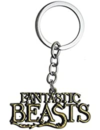 Techpro Metal Locking Keychain With Fantastic Beasts Design