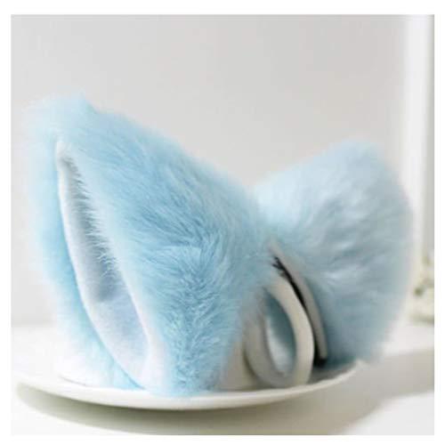 ShallweT Haarspange mit Katzenohren aus Kunstfell, Lolita, Party, -