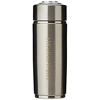Twin Filter Alkaline Flask - Make up to pH 10.0 Anti-Oxidant Water