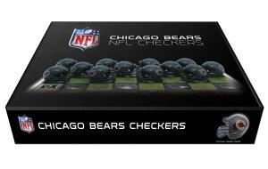 Chicago Bears Checker Set -