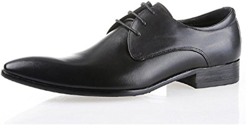 """new style ecd77 c113b ... NIUMJ Scarpe da Uomo in Pelle Scarpe Britanniche Affari Moda Moda Moda Scarpe  da Uomo Scarpe """""""