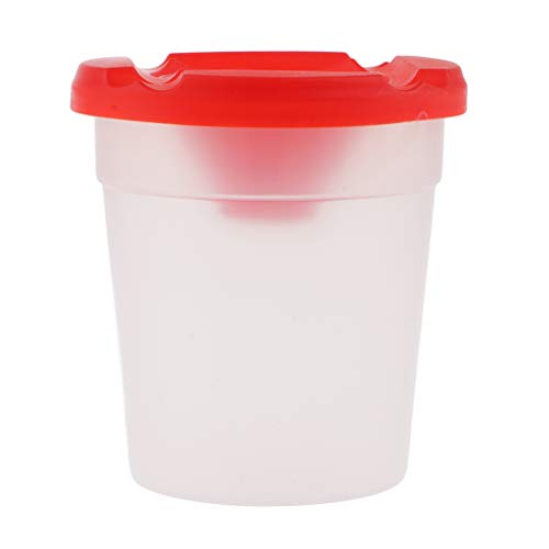 ter kein Spill-Malerei-Schalen-Wasser-Cup mit Deckel für das Malen scherzt Malerei ()