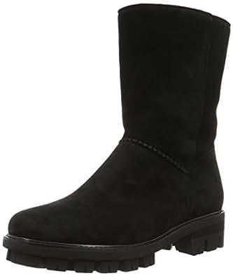 Gabor Shoes 53.714 Damen Halbschaft Schlupfstiefel, Schwarz (Schwarz 97), 35 EU (2.5 Damen UK)