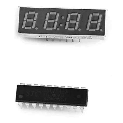 Fashion Watches Dfch WH - 0001 - Kit de Reloj Digital de 4 dígitos y 7 segmentos con Correa de Nailon...