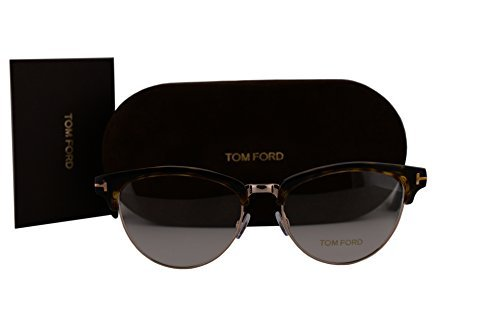 Tom Ford FT5471 Brillen 53-17-140 Havana Gold Mit Demonstrations Gläsern 052 TF5471 FT 5471 TF 5471