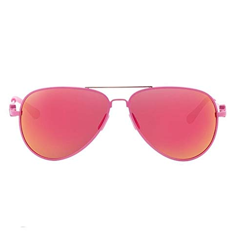 RMXMY Mode Trend Kinder Sonnenbrille Jungen Brille komfortable Frosch Spiegel Studenten Mädchen Baby Persönlichkeit Sonnenbrille