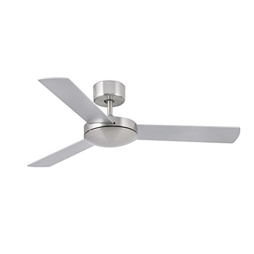 31EIY3AZ90L. SS500  - Faro 33604 – Mini Mallorca Ceiling Fan - Matte Nickel - EFN from 3Pcontent