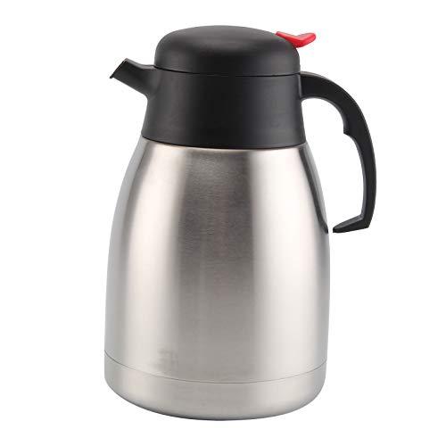 JUEYAN 1,5L Isolierkanne Edelstahl Kaffeekanne Edelstahl Teekanne...