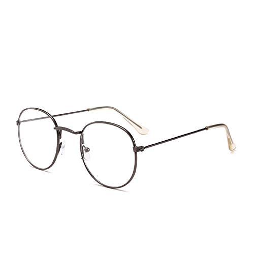 FANGUGF Flache Gläser Brillengestell Für Damen Brillengestell Für Optische Brillen Brillen Mit Ovalem Rahmen