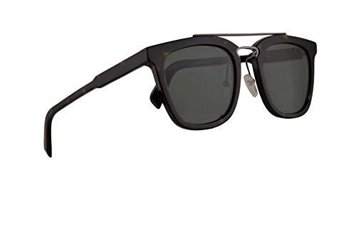 Salvatore ferragamo uomini sf844s occhiali da sole w/verde lente 52mm 214 sf 844s tartaruga grande