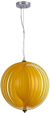 Lampex 326/1 ZOL Lampe suspendue Metis, jaune