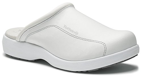 World of Clogs.com Toffeln ULTRALEGGERE 0601 Allattamento Scarpe - Bianco Bianco