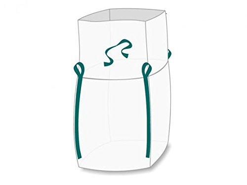 Enviro Big Bag light 90 x 90 x 110 cm, Schürzendeckel, SWL 1. 000 kg