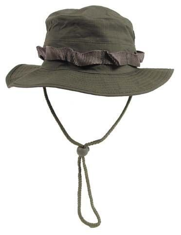 GI Boonie sombrero, EEUU gorro arbusto oliva S-XL - T. L (circunferencia cabeza 58-59cm)