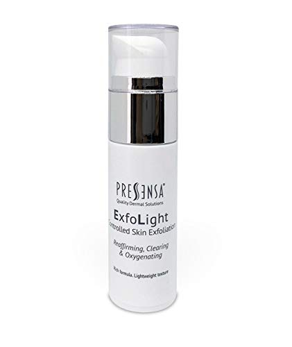 ExfoLight Controlled Skin Exfoliation, Exfoliante facial ÁCIDO GLICÓLICO, Para arrugas, manchas oscuras y signos de la edad. 30 ml