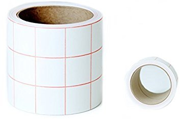 Angel Crafts 3 by 25' Transfer Paper Tape Roll w/ GRID - PERFECT SIZE for Self Adhesive Vinyl Wall Decor, Signs, Decals, Windows, and other Smooth Surfaces by Angel Crafts