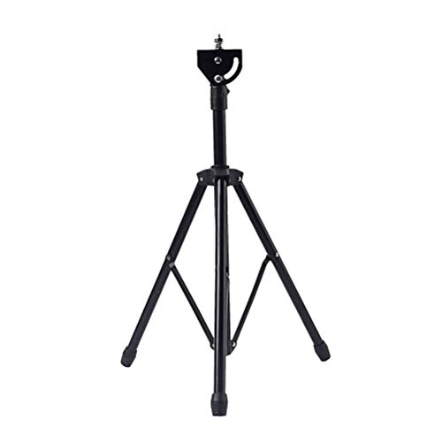 JVSISM 8 Zoll Einstellbare Metall Stativ Dumme Trommel Stand Praxis Pad Rack Halterung Unterstützung Percussion Zubeh?r Schwarz