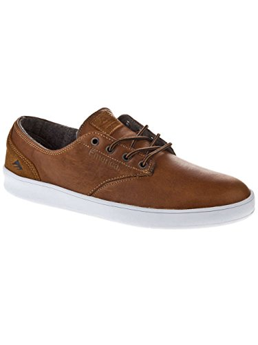 Emerica The Romero Laced Lx Herren Skateboardschuhe Brown/White