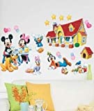 Wall Stickers Kids/Nursery/Boys/Children Room Decals Mickey and Minnie Mouse