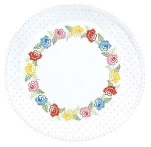 Pois Roses Napperon Rond - 30 x 30 cm-Kit de broderie