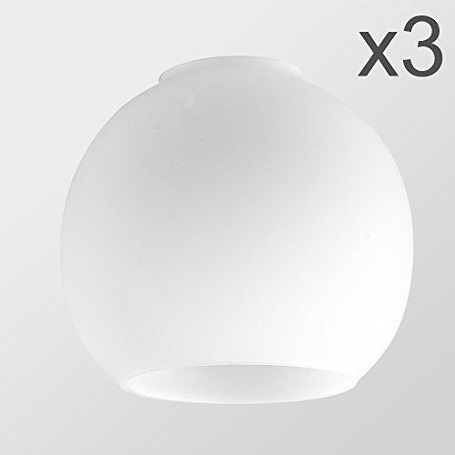 MiniSun – Set de 3 pantallas de cristal de...