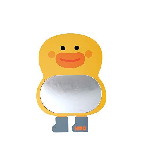 Antike Alive gelbe Ente Safe Eva-Unzerbrechliches Acryl Kinder Junge Mädchen Baby Kinder Zimmer Bad Kindergarten Wand Home Decor Niedlich Spiegel Board - Kleinkind-mädchen-wand-spiegel