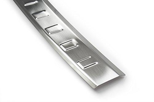 Preisvergleich Produktbild tuning-art 782 Edelstahl Ladekantenschutz mit Abkantung fahrzeugspezifische Passform