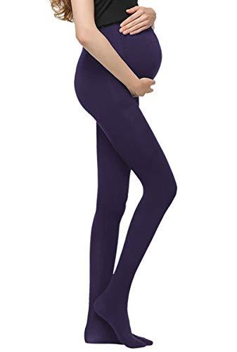 Bllatta Inverno Caldo Collant e calzamaglie Leggings la gravidanza Microfibra Opaque maternita calze premaman Donna 320D