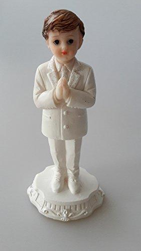 Kommunion Figur Junge stehend groß Tortendekoration Dekorationfigur Tischdekoration Dekoration *NEU*