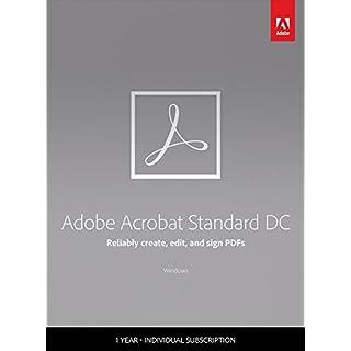 Adobe Acrobat Standard DC | Standard | 1 Year | PC | Download