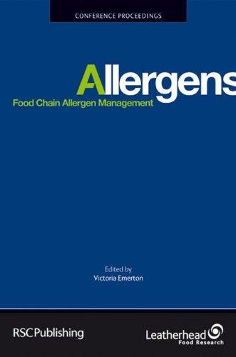 Food Chain Allergen Management (Special Publications)