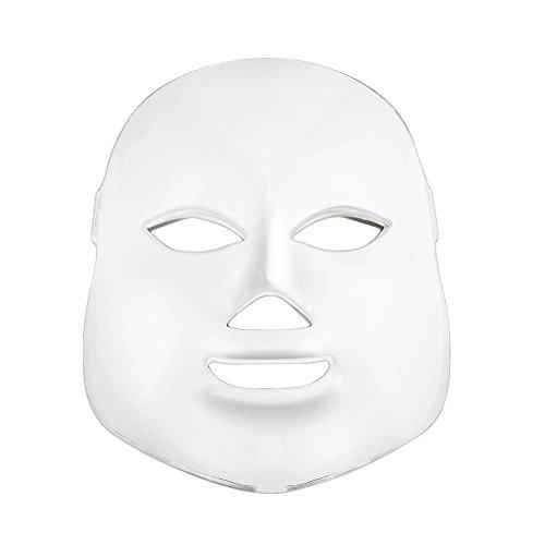 Rokoo Outils multifonctionnels de beauté de rajeunissement de peau de masque facial photodynamique à la maison de LED