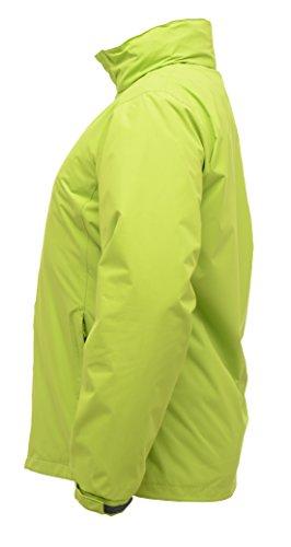 Admore veste de coquille imperméable pour femme Noir / Gris Phoque