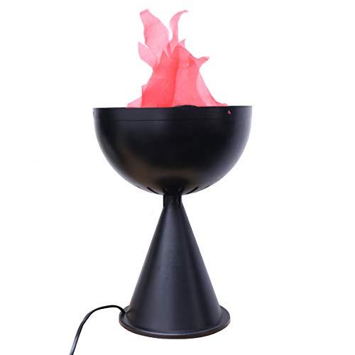 or Requisiten Elektronische Simulation Brazier Falsche Feuer Flamme LED Licht F (Eu-Stecker) ()