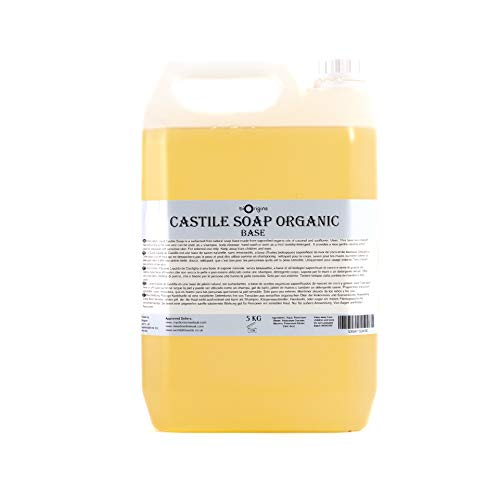 Puro Líquido Castile Jabón Orgánico 5Kg
