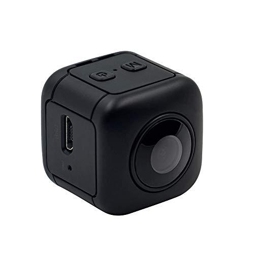 FENGSHUAI Action-Kamera, kleine Sportkamera 1080P wasserdichte HD-Mini-Metallhelm-Außenkamera