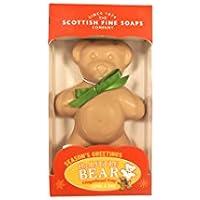 Piccolo Orsetto Sapone 120g profumato di pan di zenzero Scottish Fine Soaps