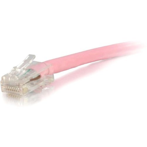 C2g C2g 25Ft Cat6 Non-Booted Unshielded Utp Network Patch Cable - Pink - By C2g - Prod. Class Network Hardware Network Cable Patch