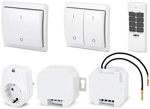 funkschalter fuer licht Funk-Empfänger - für Lichtschalter - LED geeignet