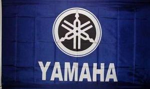 5' Outdoor Indoor Banner (Yamaha Motorrad Flagge 3'x 5' Indoor Outdoor Moto Banner)
