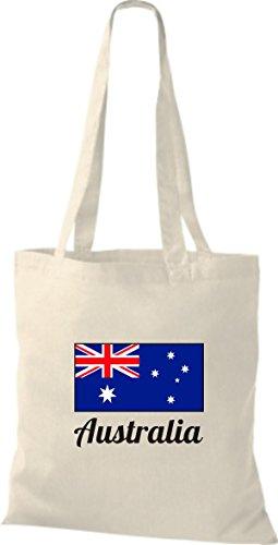 utel Baumwolltasche Länderjute Australia Australien, Natur (Halloween In Australien)