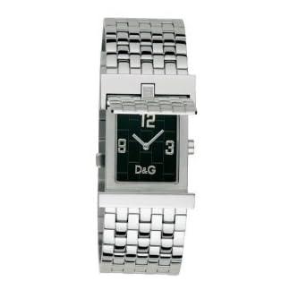 D&G Dolce&Gabbana Mick DW0028 – Reloj de caballero de cuarzo con correa de acero inoxidable plateada